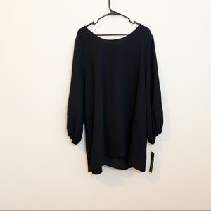 d5c62506e0d82f IC by Connie K Tops | Black Blouse With Bow Size 1x | Poshmark